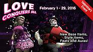 Love Conquers All: The 2016 Valentine's Day Event!