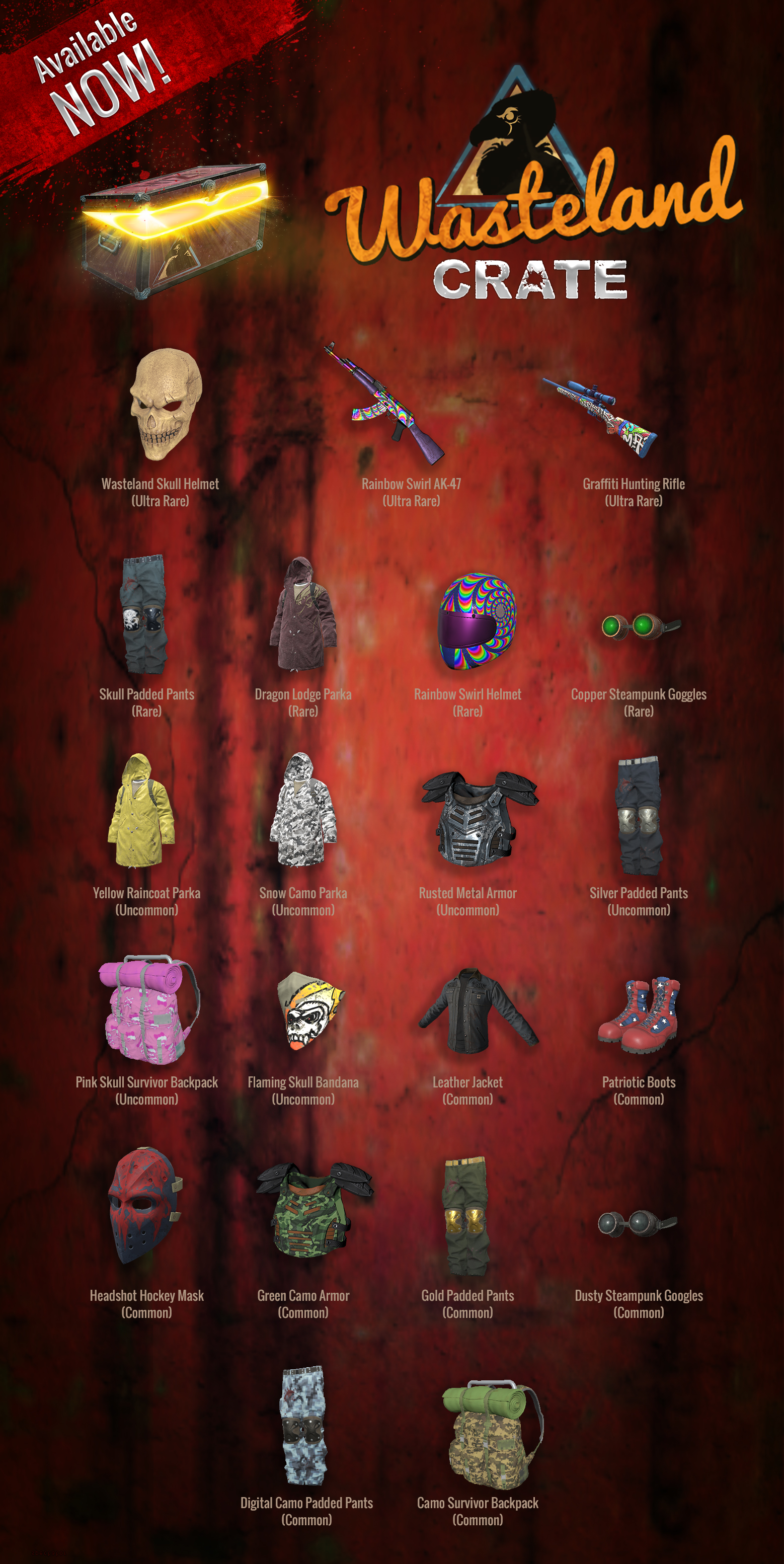 402?v=1.0 new wasteland crate king of the kill massively multiplayer,Invitational H1z1 Crate
