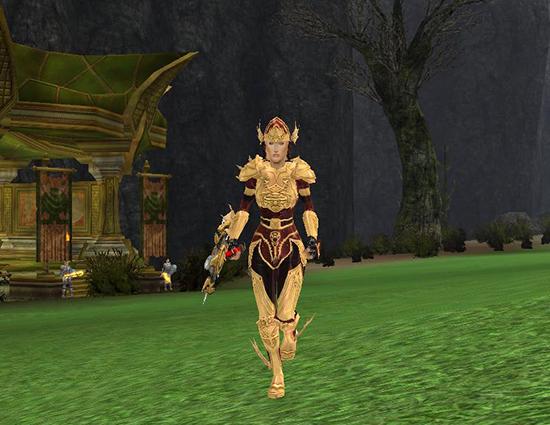 Golden Hero Hero's Forge - Plate