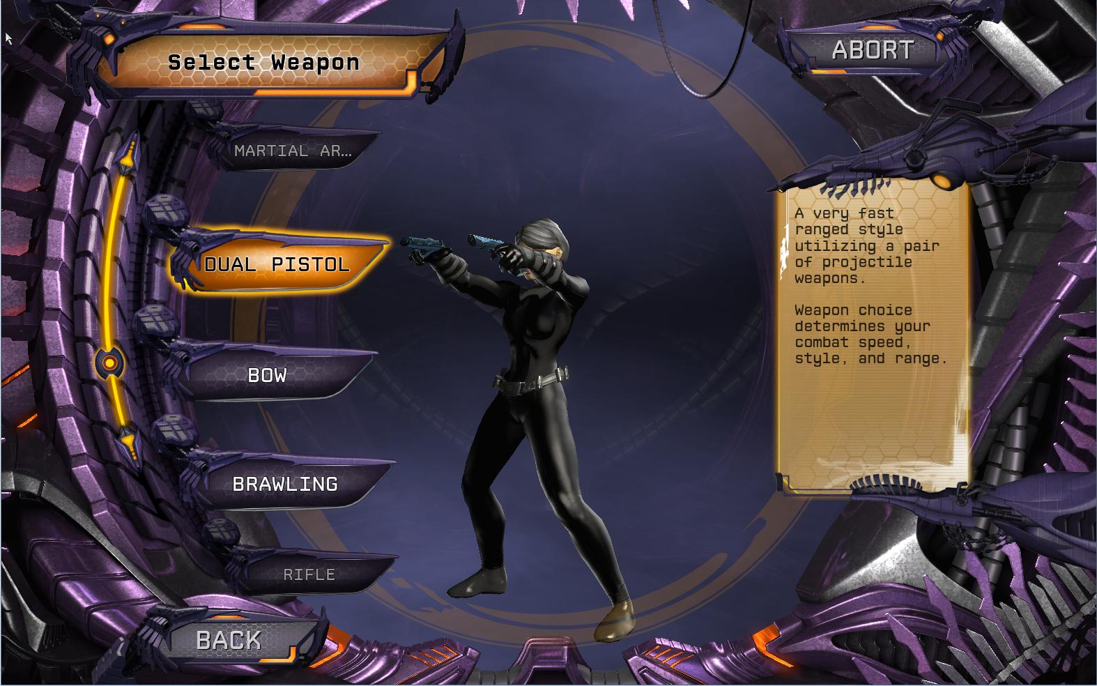 basics choose your weapon dc universe online
