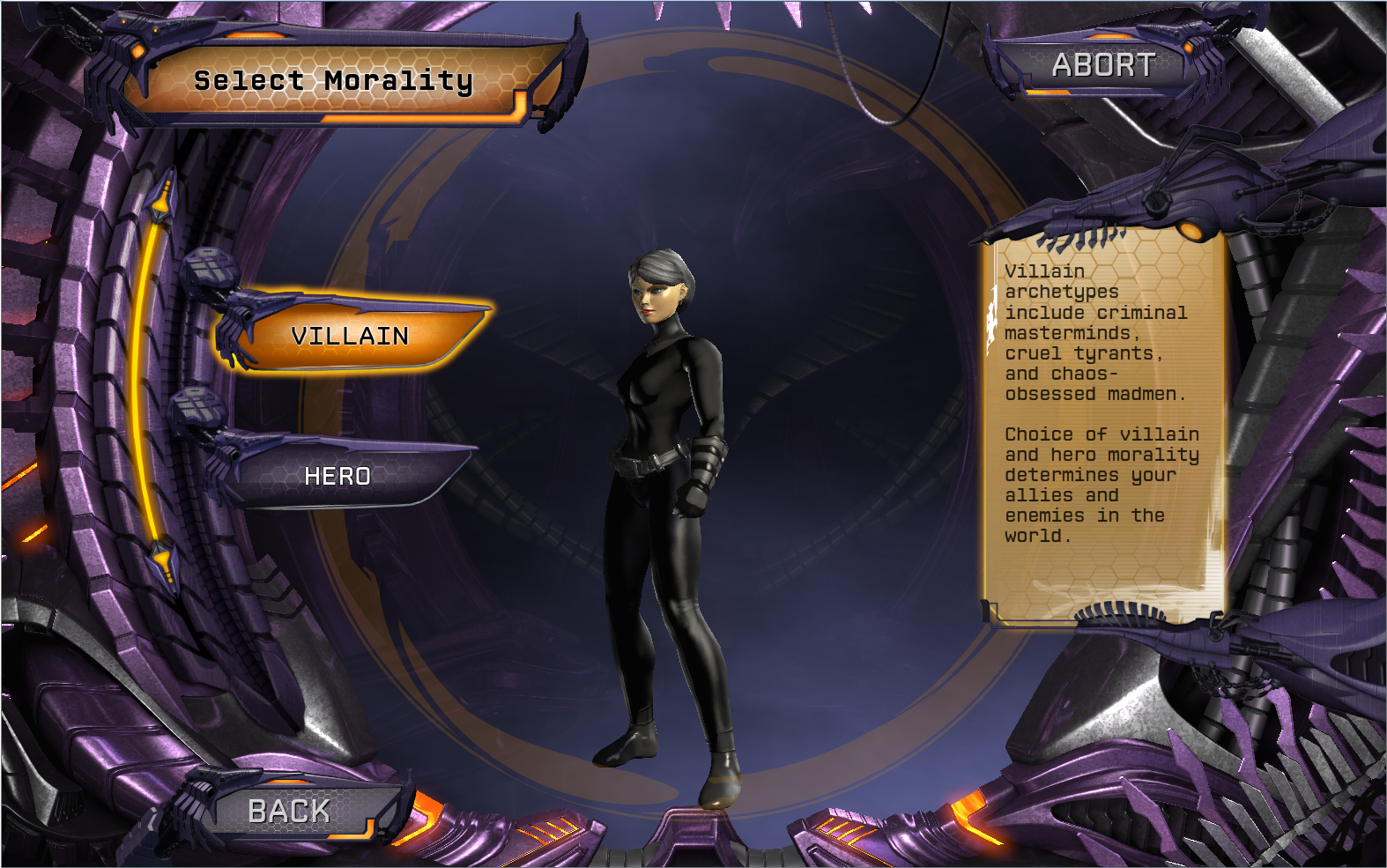 BASICS: CHOOSE YOUR MORALITY & MENTOR | DC Universe Online