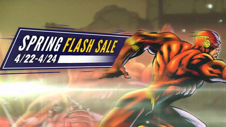 The Spring Flash Sale is here!
