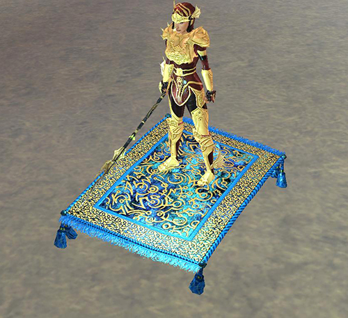 Ornate Flying Carpet Loot