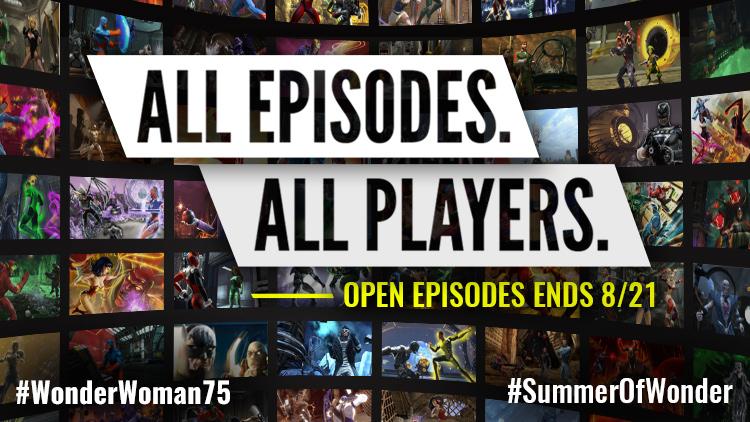 Open Episodes