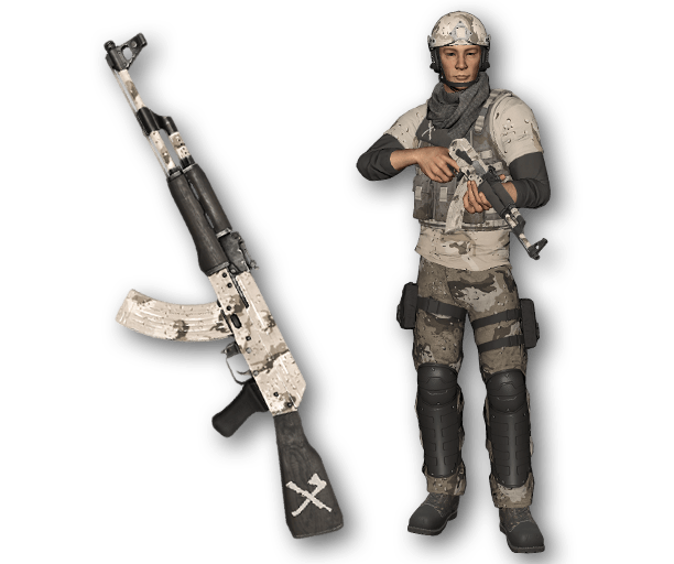 Desert Warfare AK-47 (Ultra-Rare)