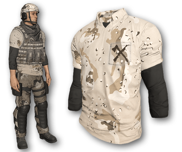 Desert Warfare Polo Shirt (Common)