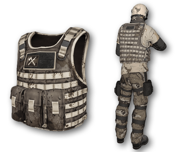 Desert Warfare Tactical Body Armor (Rare)