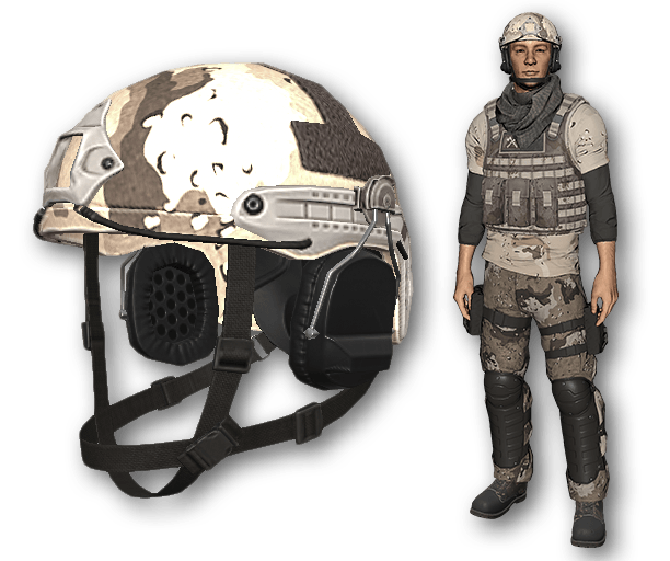 Desert Warfare Tactical Helmet (Uncommon)