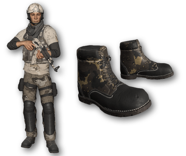 Desert Warfare Work Boots (Common)