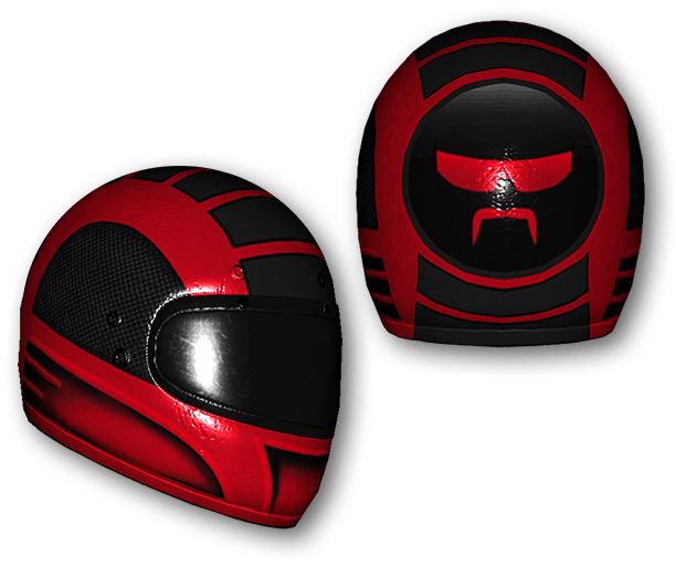 Dr DisRespect Motorcycle Helmet (Common)