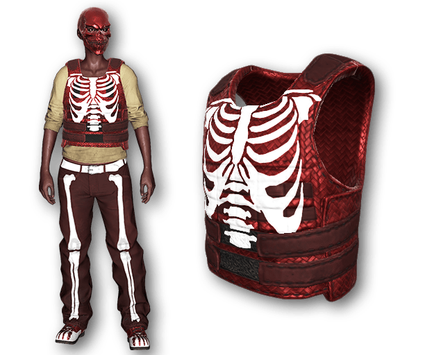 Red Bone Body Armor (Uncommon)