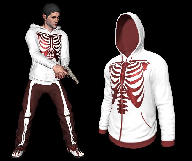 Red Bone Hoodie (Rare)