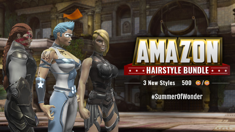 Look Like You Belong on Themyscira (New Hairstyles!) | DC Universe ...