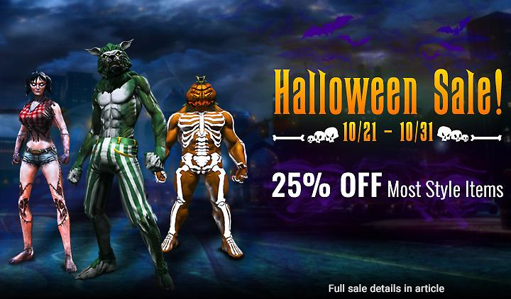Halloween Sale and Costume Contest!