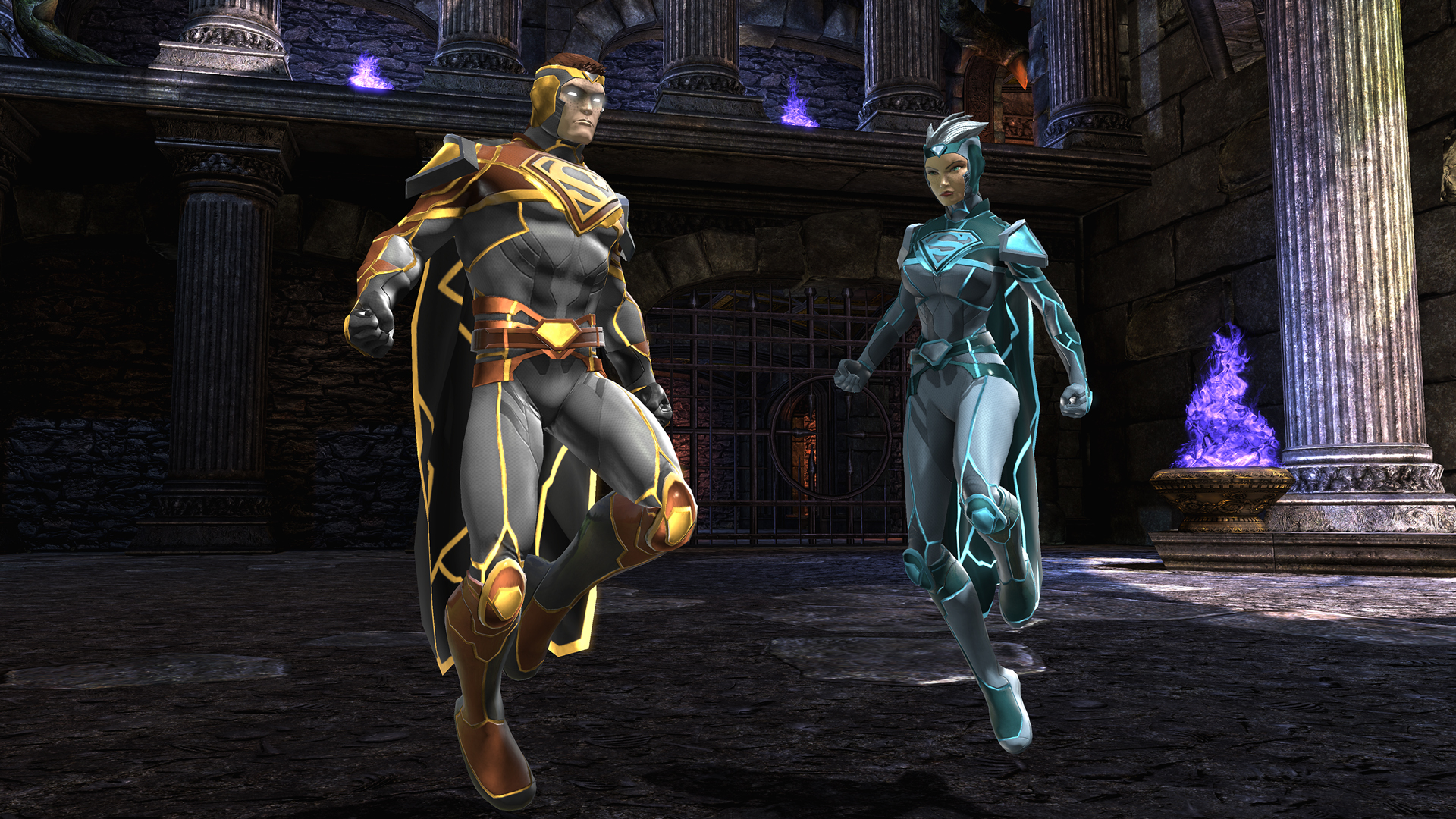 dcuo how to change armory