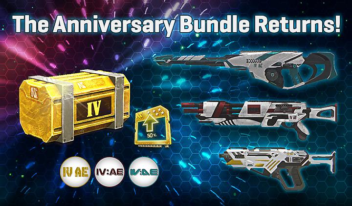 The Fourth Anniversary Bundles and Double XP