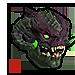 Infernal Green Demon Mask