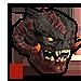 Infernal Red Demon Mask
