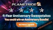 Retweet and Win A 4th Anniversary Bundle!