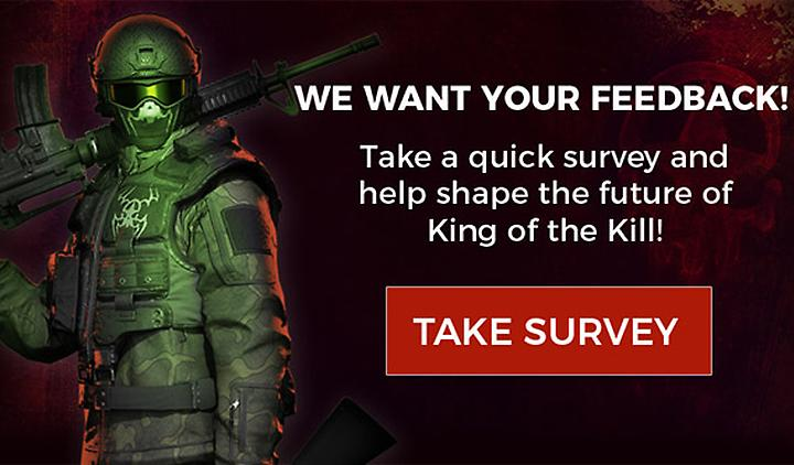 Survey: We Want Your Feedback!
