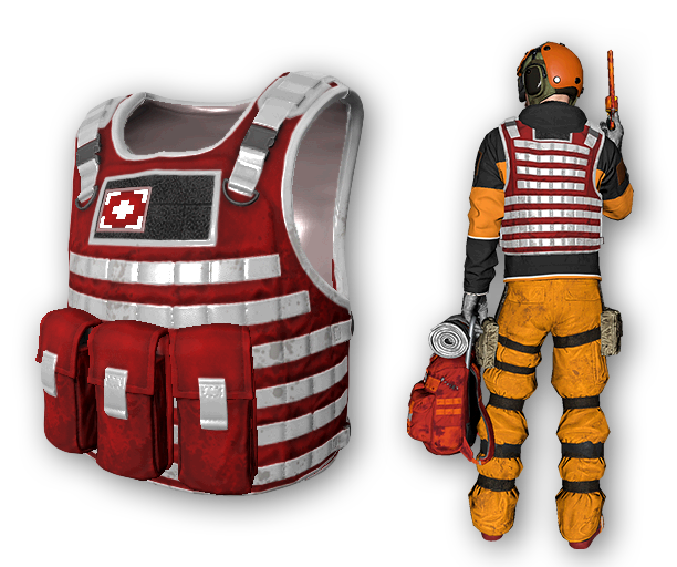 First Responder Tactical Body Armor