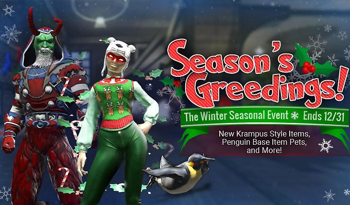 Season's Greedings Returns!