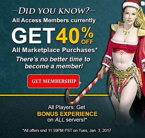 40% OFF Marketplace for members