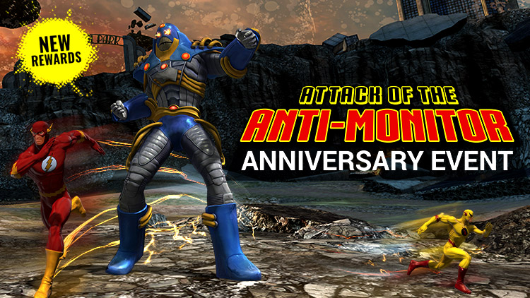 Now Available: The Anti-Monitor Anniversary Event!