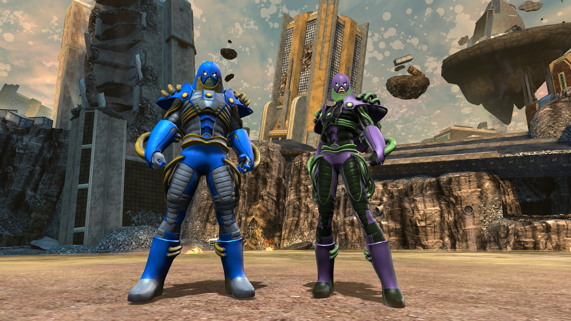 Anti-Monitor Gear
