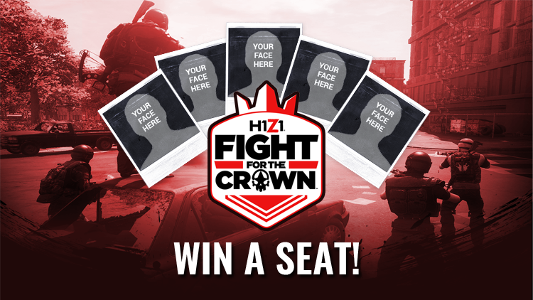 Fight for the Spot: Enter to Win A Tournament Seat! | H1Z1 ...