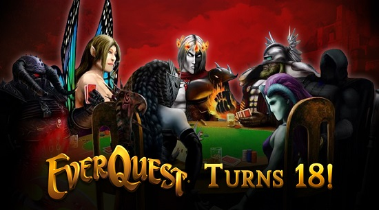 EverQuest Turns 18!