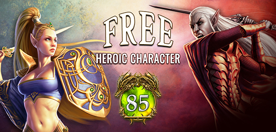 Free Heroic Character - Ends March 31