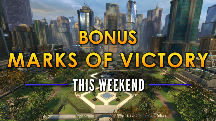 Bonus Marks of Victory Weekend! June 7-10, 2018