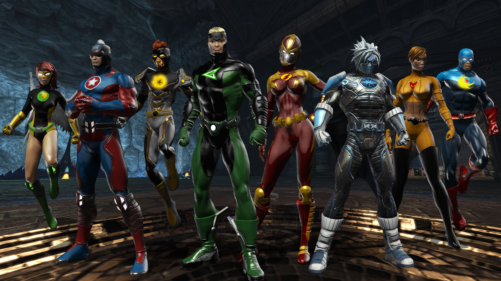Team Up Time Capsule Dc Universe Online