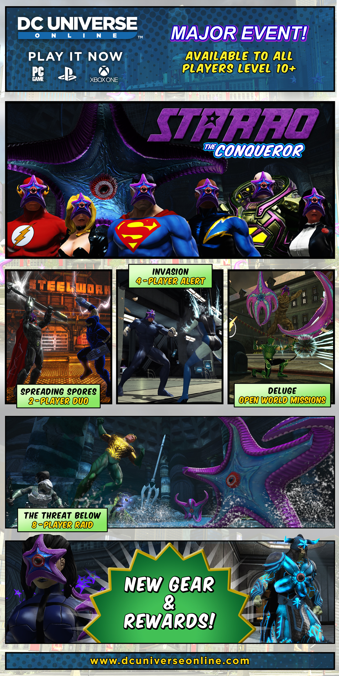 Now Available: Starro the Conqueror! | DC Universe Online
