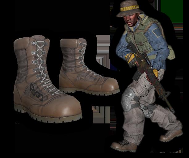 Jungle Merc Combat Boots