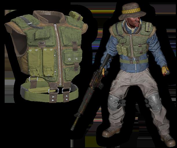 Jungle Merc Tactical Armor