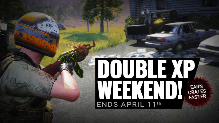 EXTENDED: Enjoy Double XP This Weekend! | H1Z1 | Battle ...