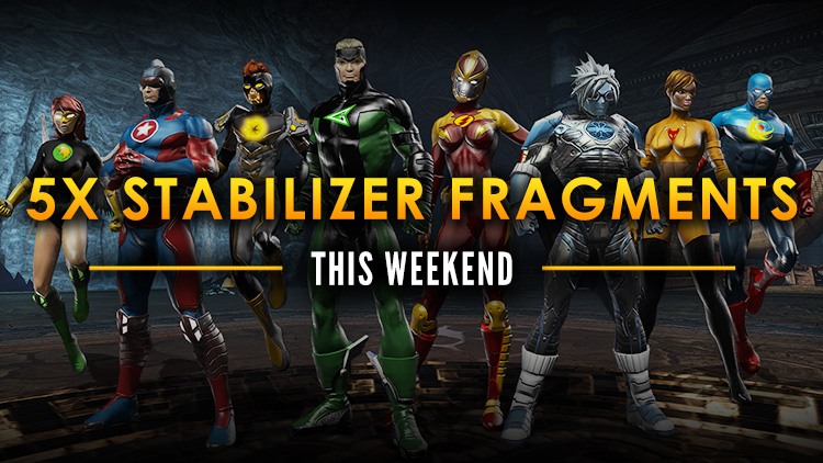 Bonus Stabilizer Weekend!