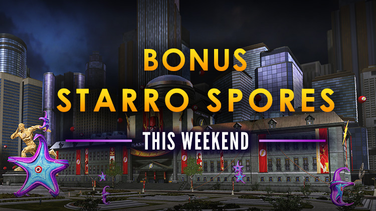 Bonus Spore Weekend! EXTENDED