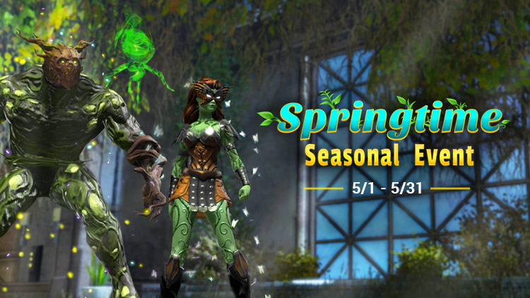 Springtime Seasonal Event and Member Gift!