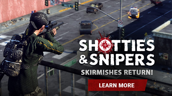 SKIRMISH: Shotties and Snipers