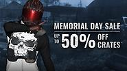 WEEKEND SALE: Up to 50% off Crates and Skull Store Items!