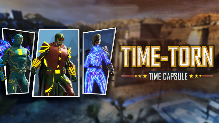 Now Available Time Torn Time Capsule Dc Universe Online