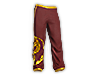 Golden Dragon Warmup Pants