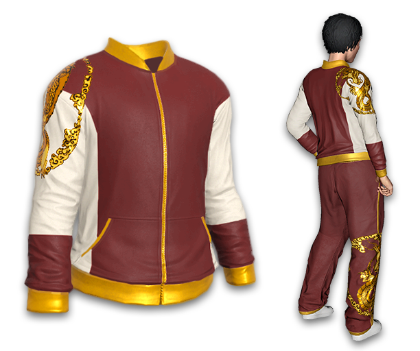 Golden Dragon Warmup Jacket