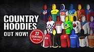 NOW AVAILABLE: Country Hoodies!