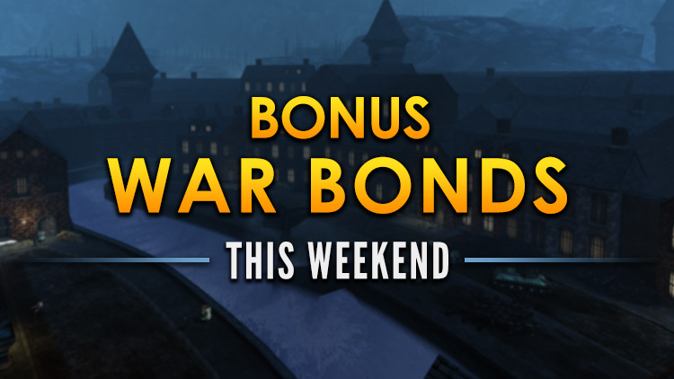 Bonus War Bond Weekend! July 6-9