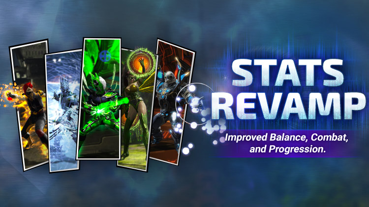 NOW AVAILABLE: The Stats Revamp!