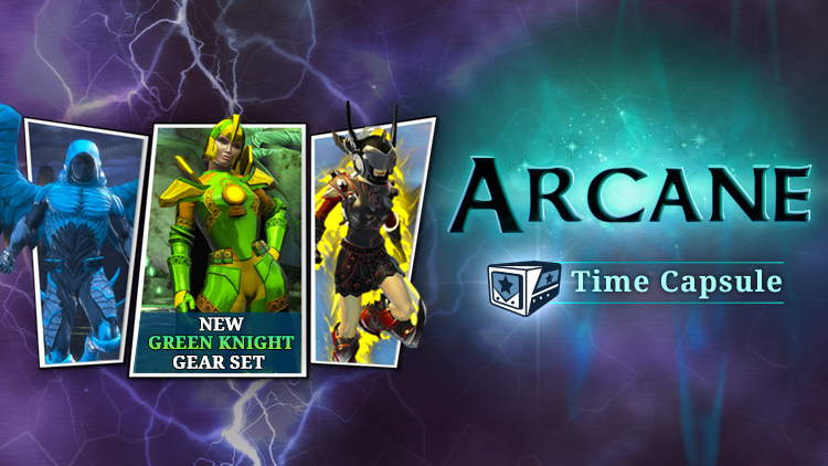 NOW AVAILABLE: Arcane Time Capsule!